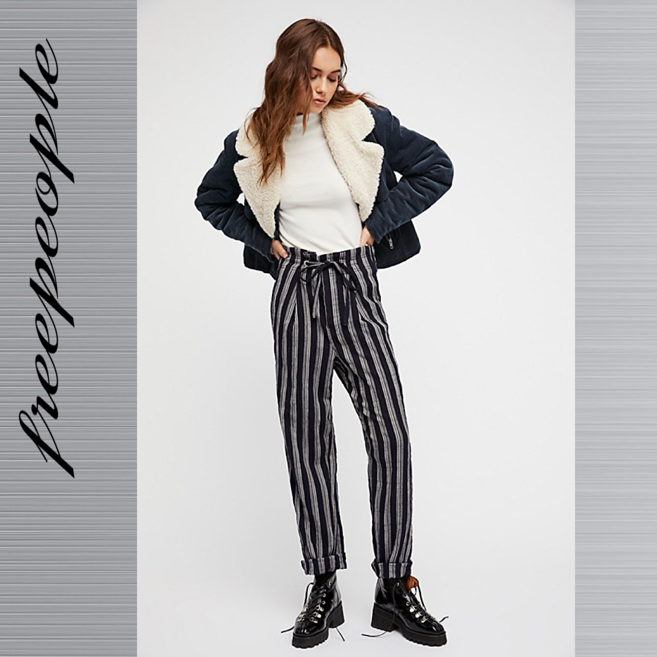 free people フリーピープル Here And There パンツ 送料無料