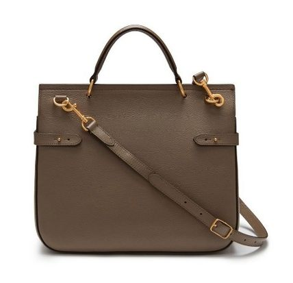 Mulberry ショルダーバッグ・ポシェット Mulberry Amberly ClayグレインレザーHH4707-205D614(3)