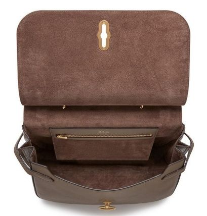 Mulberry ショルダーバッグ・ポシェット Mulberry Amberly ClayグレインレザーHH4707-205D614(4)