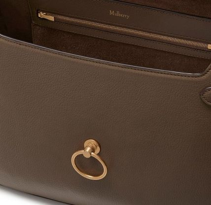 Mulberry ショルダーバッグ・ポシェット Mulberry Amberly ClayグレインレザーHH4707-205D614(6)