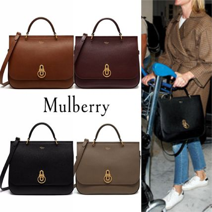 Mulberry ショルダーバッグ・ポシェット Mulberry Amberly ClayグレインレザーHH4707-205D614