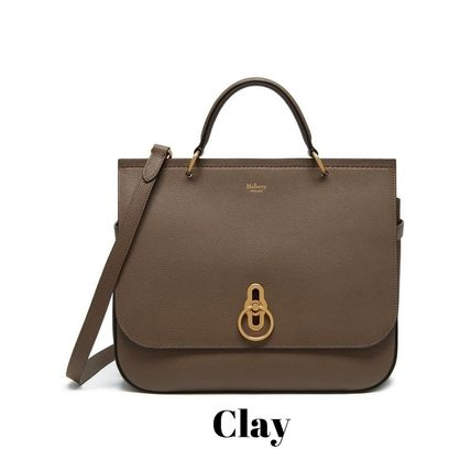 Mulberry ショルダーバッグ・ポシェット Mulberry Amberly ClayグレインレザーHH4707-205D614(2)
