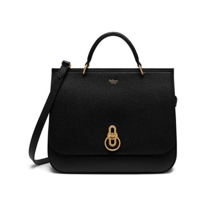 Mulberry ショルダーバッグ・ポシェット Mulberry Amberly ClayグレインレザーHH4707-205D614(7)