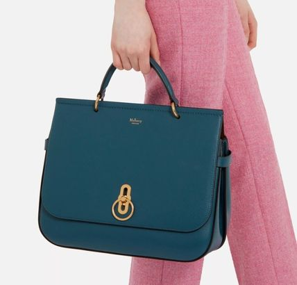 Mulberry ショルダーバッグ・ポシェット Mulberry Amberly ClayグレインレザーHH4707-205D614(20)