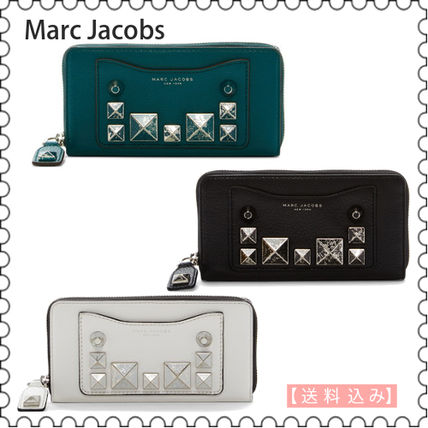【Marc Jacobs】Recruit Chiped Studs Continental 長財布(正規)