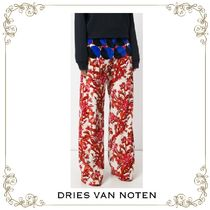【17AW】大人気★Dries Van Noten★patterned flared trousers