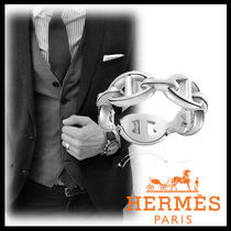 HERMES★Chaine d'Ancre Enchainee シルバースモールリング