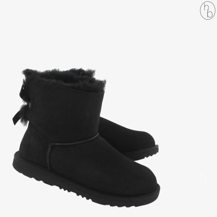 【送料込】大人もOK★UGG' MINI BAILEY BOW II sheepskin boots