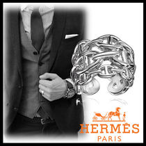 HERMES★Chaine d'Ancre Enchainee スターリングシルバーリング