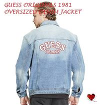 Love it  GUESS Originals 1981 Oversized Denim Jacket