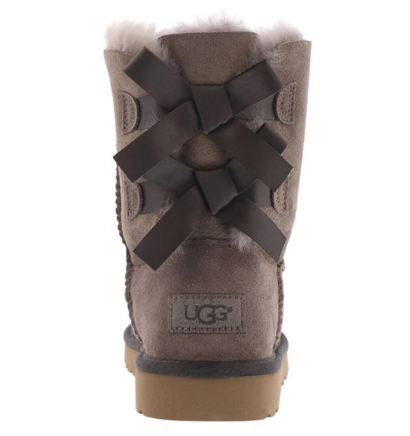 【送料込】大人もOK★UGG Girls' BAILEY BOW sheepskin boots