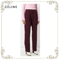 【17AW】大人気★CELINE★high-waisted tailored trousers