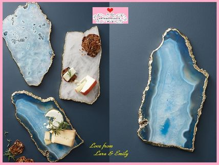 Anthropologie 食器(皿) 18AW*最安値保証*関税送料込【Anthro】Agate Cheese Board