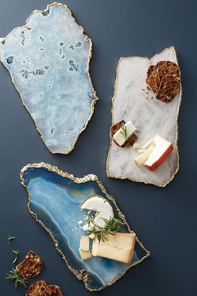 Anthropologie 食器(皿) 18AW*最安値保証*関税送料込【Anthro】Agate Cheese Board(4)