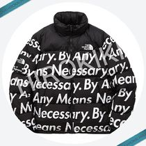 【15AW】Lサイズ★Supreme The North Face Nuptse Jacket 黒