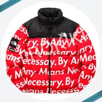 【15AW】Lサイズ★Supreme The North Face Nuptse Jacket Red 赤