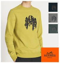 2017AW【HERMES】Robot ラウンドネック スウェット*4color