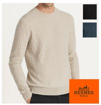 2017AW【HERMES】H intermixed*カシミヤ100%セーター 3color