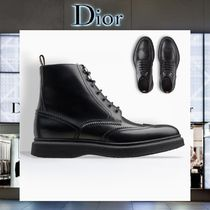 【17AW NEW】 Christian Dior_men / NOTCHED CUT-OUTSブーツBK