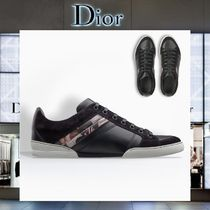 【17AW NEW】 Christian Dior_men / MOSH PITSレザースニーカー