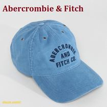 ◇Abercrombie & Fitch◇アップリケキャップ◇青◇関税送料込◇