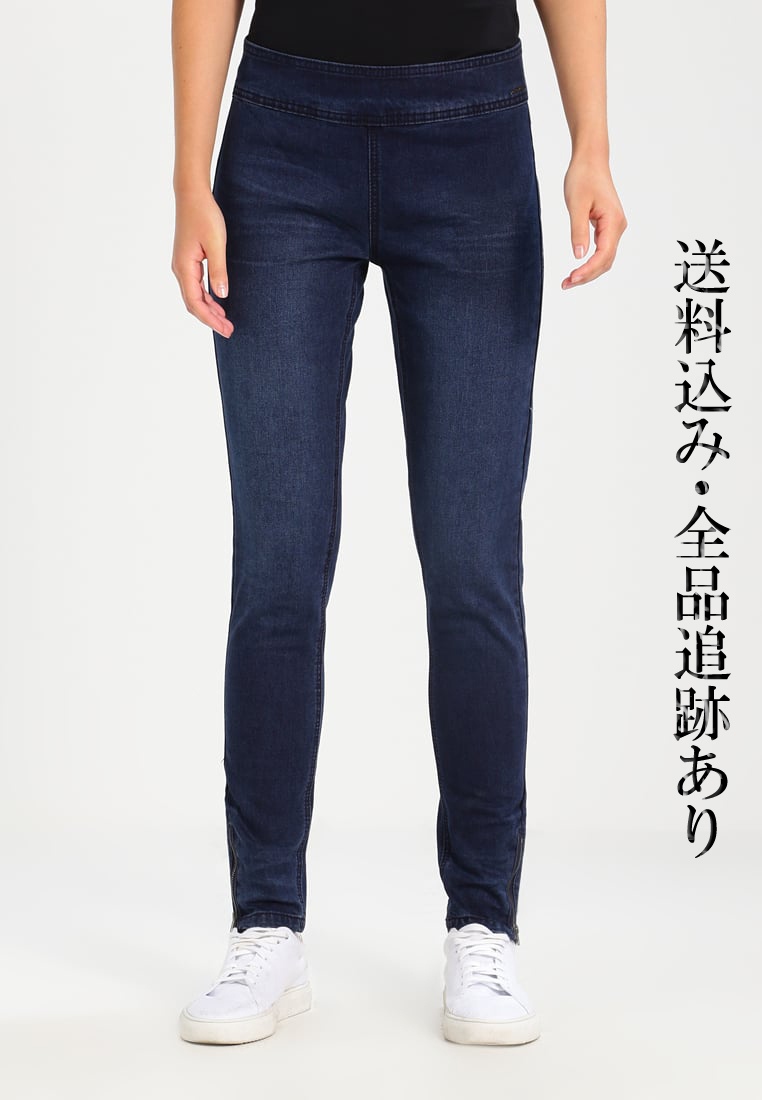 先取り♪Cream_BELUS KATY FIT スリム ジーンズ DARK BLUE DENIM