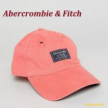 ◇Abercrombie & Fitch◇ロゴパッチキャップ◇ピンク◇税送込◇
