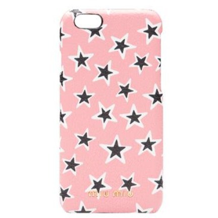 ★送料無料/関税込★MIU MIU STAR-PRINT IPHONE 7CASE
