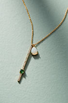 【Anthropologie】新作!可愛いAriana Delicateネックレス・Mint