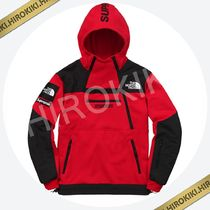 Lサイズ★Supreme North Face Steep Tech Hooded Sweatshirt 赤