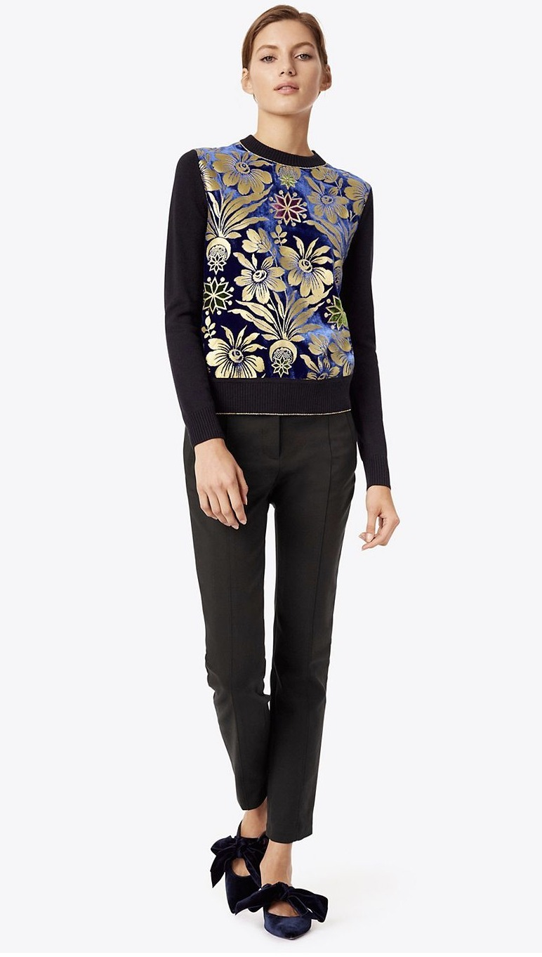 Tory Burch HOLLIS SWEATER