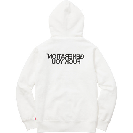 [Sale]Supreme Undercover Generation Fuck You Zip Up Sweat
