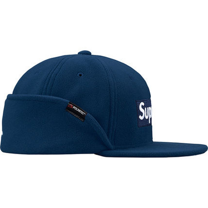 Supreme キャップ Supreme Polartec Ear Flap New Era Cap Box Logo 送料込み 17AW(7)