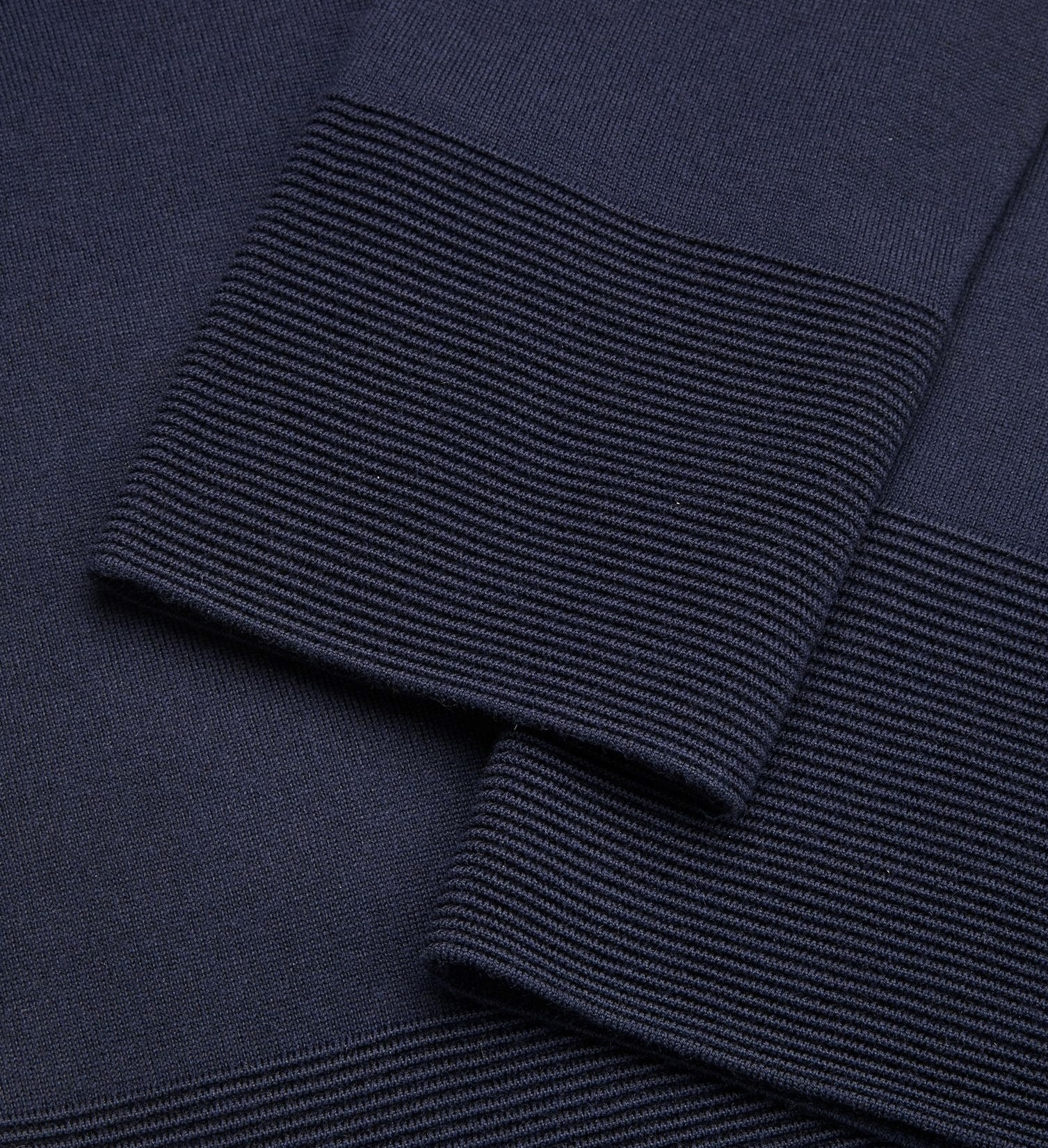 """COS""RIBBED PANEL JUMPER NAVY"