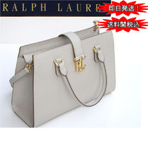 特別価格! Ralph Lauren Brigitte II Medium Satchel 2way
