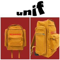 【UNIF】●大人気●17AW新作●MISSING BACKPACK
