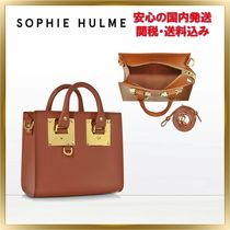 ◇ SOPHIE HULME ◇ Saddle Albion Box Tote Bag 【関税送料込】