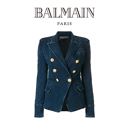 BALMAIN DOUBLE-BREASTED JACKET 1986300644 【関税送料込】