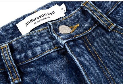 ANDERSSON BELL デニム・ジーパン 【ANDERSSON BELL】正規品★スリット ブーツカット JEANS/追跡付(14)