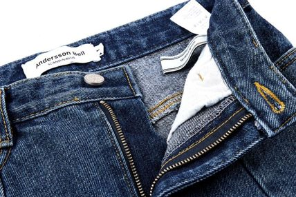 ANDERSSON BELL デニム・ジーパン 【ANDERSSON BELL】正規品★スリット ブーツカット JEANS/追跡付(15)