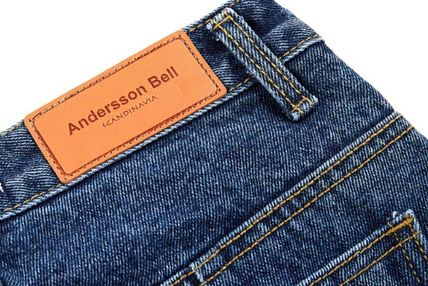 ANDERSSON BELL デニム・ジーパン 【ANDERSSON BELL】正規品★スリット ブーツカット JEANS/追跡付(17)
