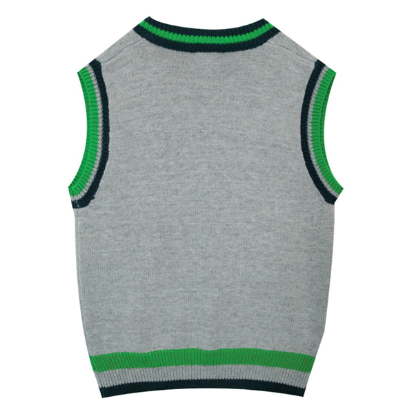 【OPEN THE DOOR】 sense preppy knit vest (3 color)