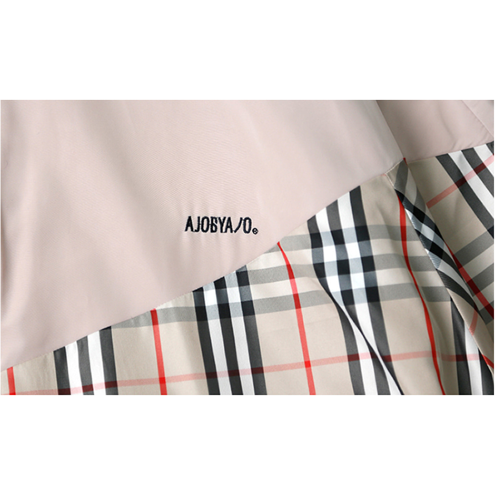 韓国の人気★AJOBYAJO★Reversible Check Jumper