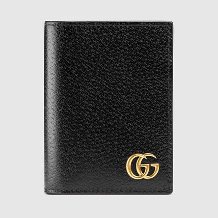 "GUCCI カードケース・名刺入れ 関税込""Gucci""GG Marmont leather card メンズ カードケース"