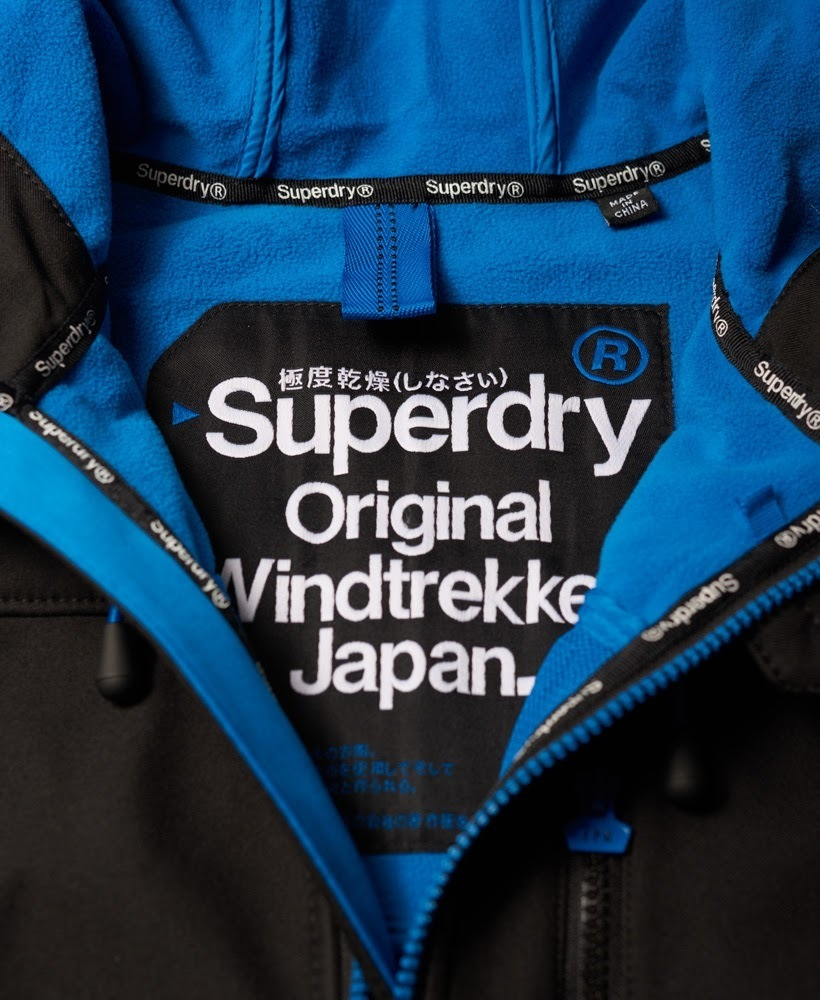 Superdry★人気!Hooded SD-Windtrekker Jacket 全6色 黒/ブルー