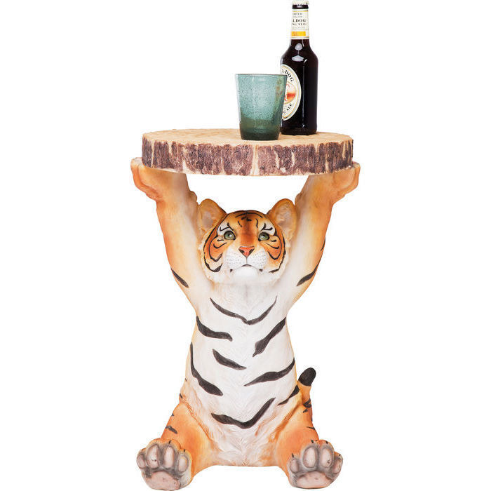 (サイドテーブル)Side Table Tiger 35cm