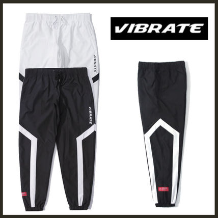 ★2017F/W★[VIBRATE] - GEOMETRICAL LINE JOGGER PANTS*2color