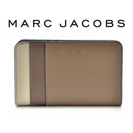 17AW ☆MARC JACOBS☆ SAFFIANO COLORBLOCKED コンパクト財布♪