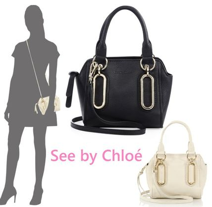 Sale!   See by Chloe Paige Mini Leather Crossbody Bag