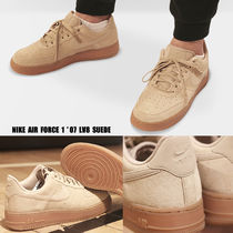 NIKE★WMNS AIR FORCE 1 '07 SE★スウェード★MUSHROOM